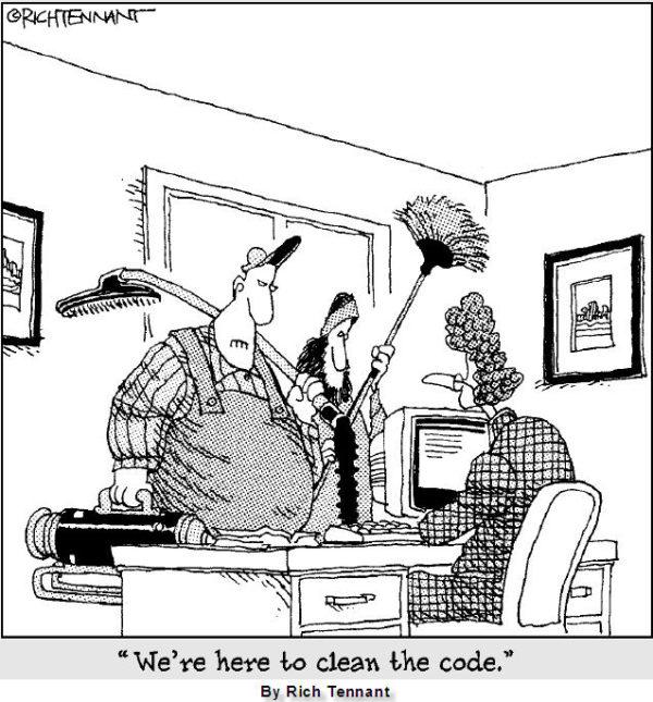SQL Humor - clean code