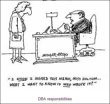 SQL Server DBA Responsibilities
