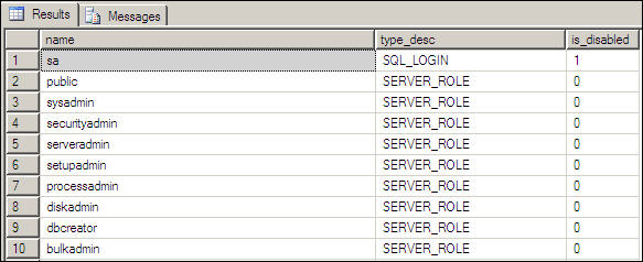 Access to SQL Server instance