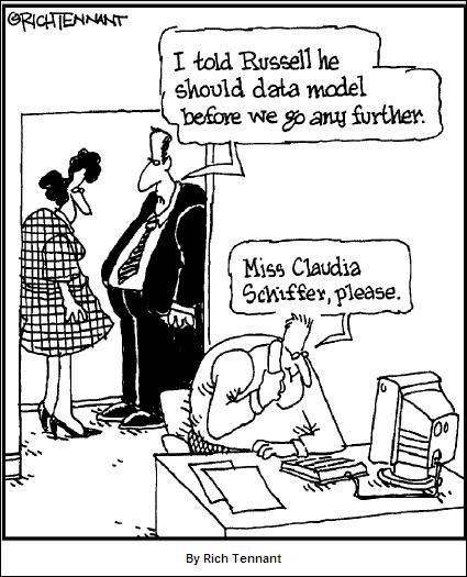 SQL Humor - data model