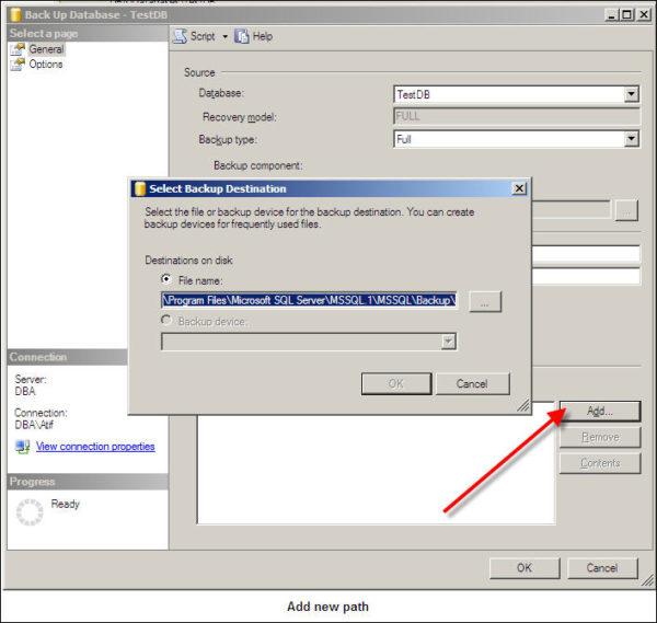 Backup SQL Server Database-3