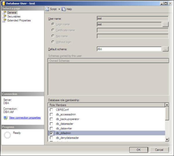 SQL Server Granting Role