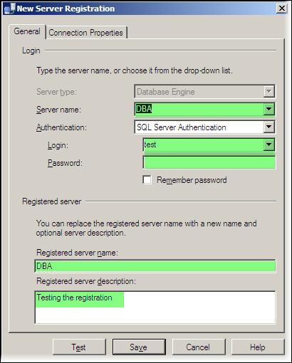Register New Server Instance 1