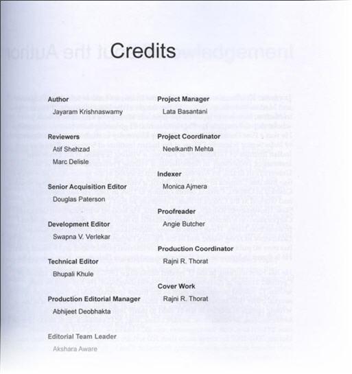 SQL Server DBA Atif Shehzad Technical Review SSRS Book Credits