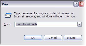 Access Admin Tools through Run Box