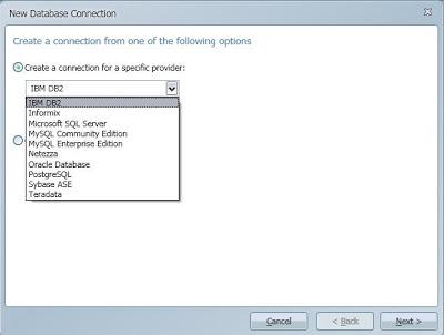 DBMS for Expressor Studio