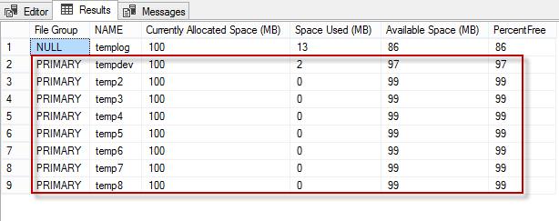 Fill up tempDB by using this script | DBDigger