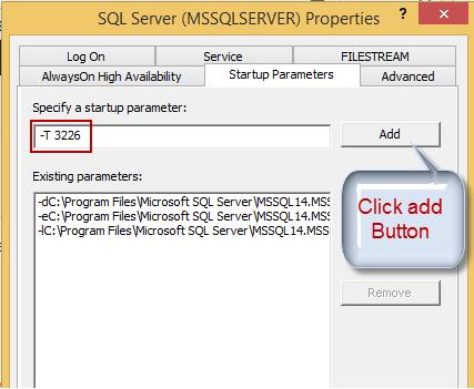Methods of adding trace flag in SQL Server | DBDigger